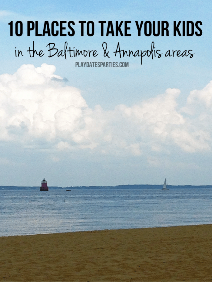 Visiting Maryland on a budget? Take a look at these 10 places to take your kids in Baltimore and Annapolis areas without breaking the bank.