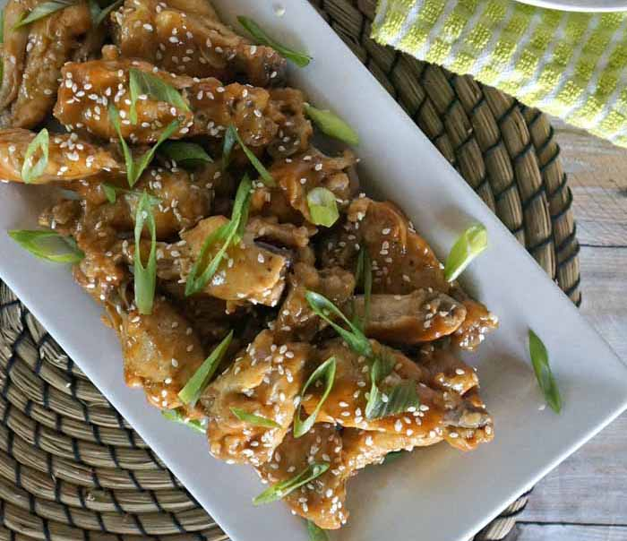 Honey and Lime Thai Spiced Peanut Lime Chicken Wings