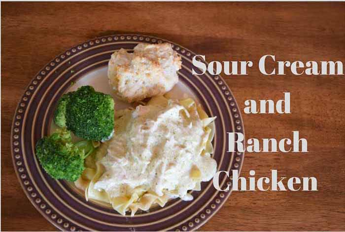 Smiles and Sundays Sour-Cream-and-Ranch-Chicken