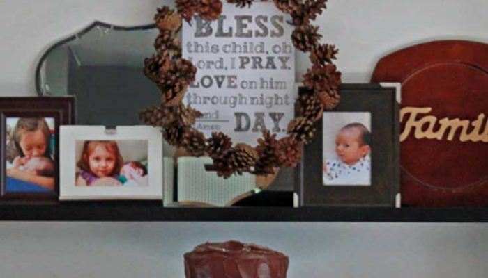 Bless This Child: Baby Boy's Fall Inspired Baptism