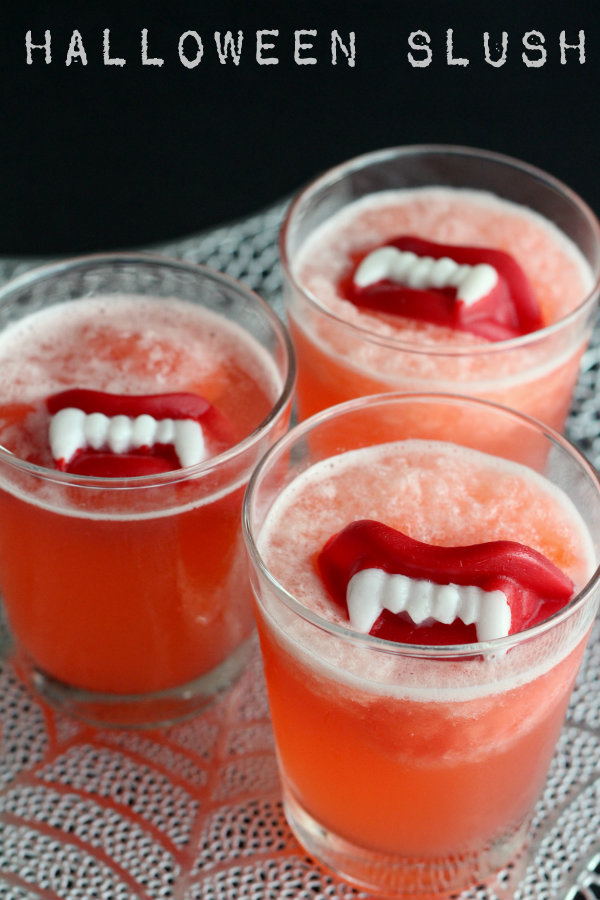 Halloween Slushy: Start a new family tradition with a pitcher of one of these 10 Halloween mocktails while you join the kids for trick-or-treating.