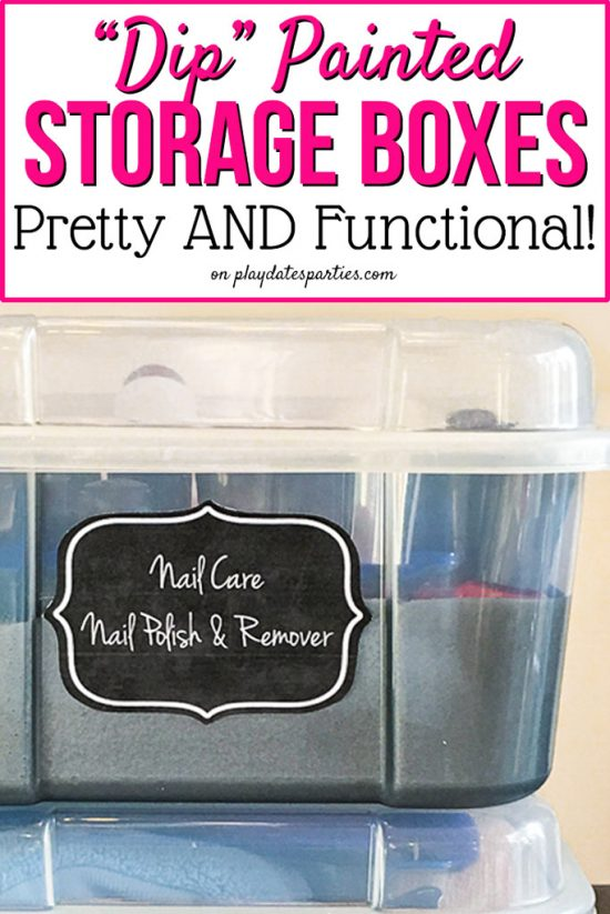 Smart Storage Solutions: How to Make Painted Storage Boxes