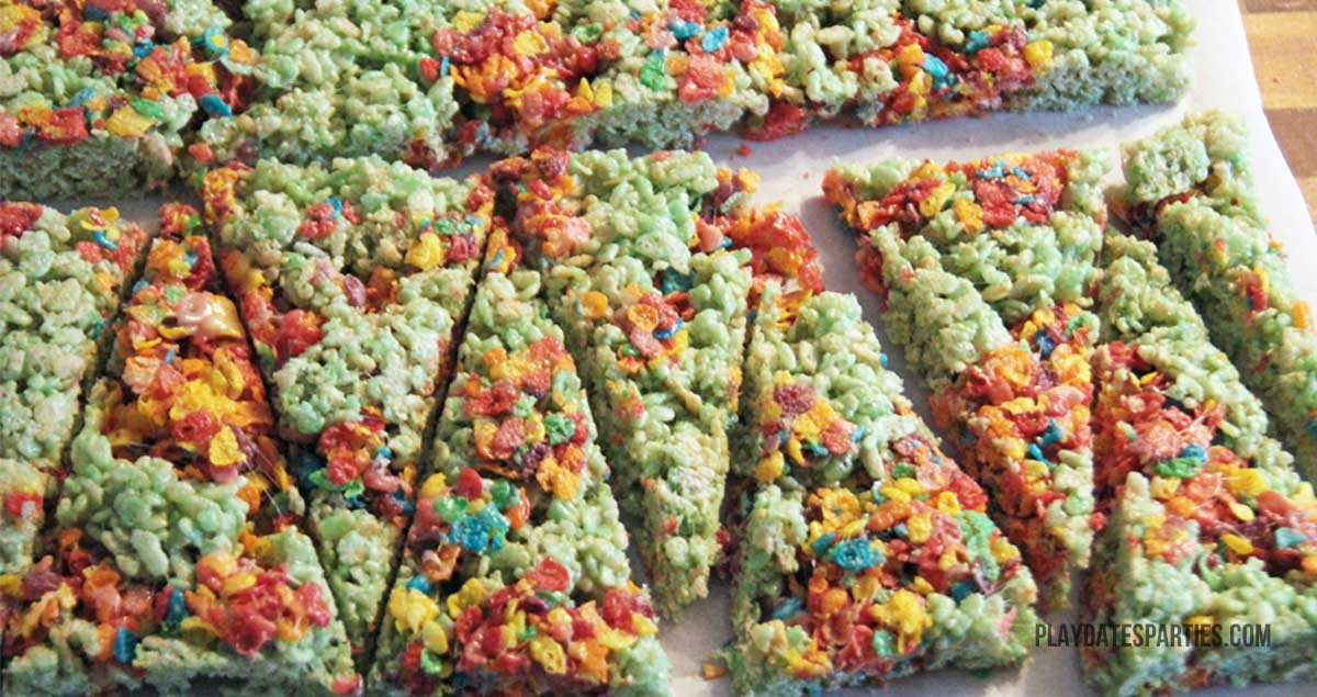 These colorful Krispy Christmas Trees couldn't be easier. Two batches of cereal treats are combined to create a simple, festive snack everyone will love.
