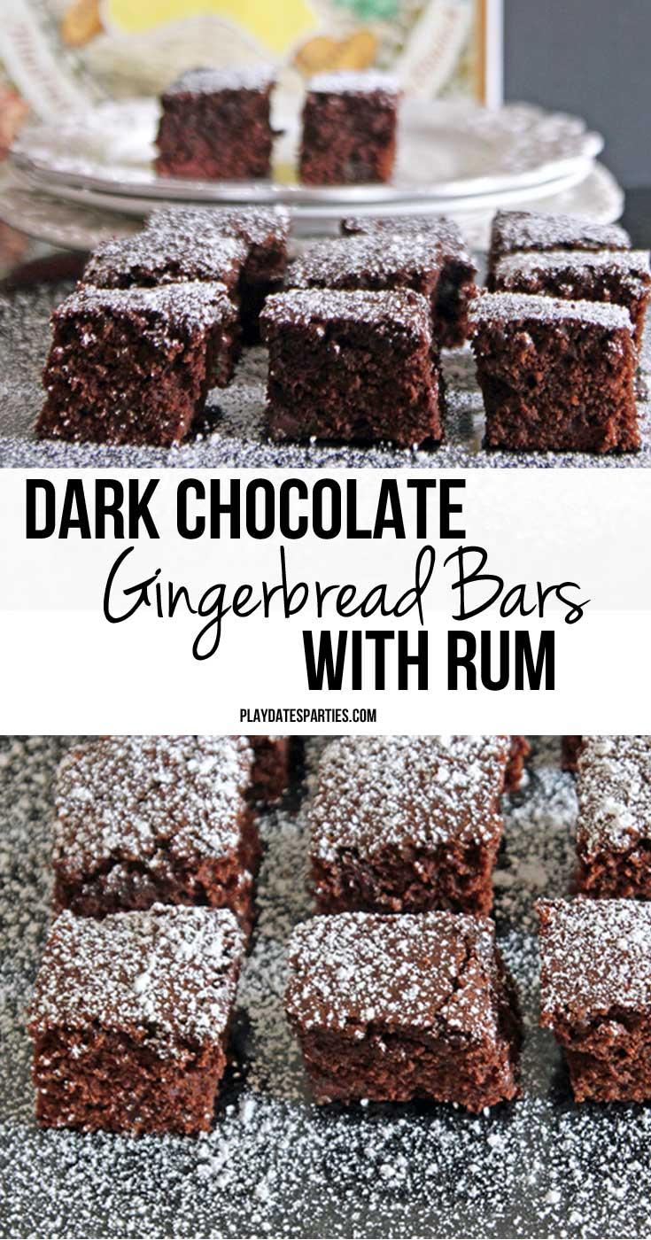 Chocolate Rum Cake With Sour Cream