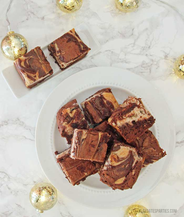 You'll love these rich and indulgent java eggnog brownies with a hint of coffee and a thick eggnog infused cheesecake layer.