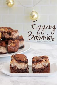 Java Eggnog Brownies