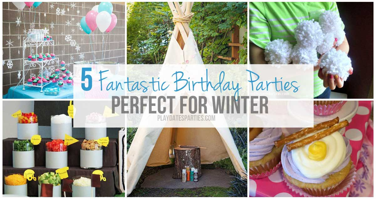 peachy 3 year old birthday party ideas at home.  5 Fantastic Birthday Party Themes Perfect for Winter