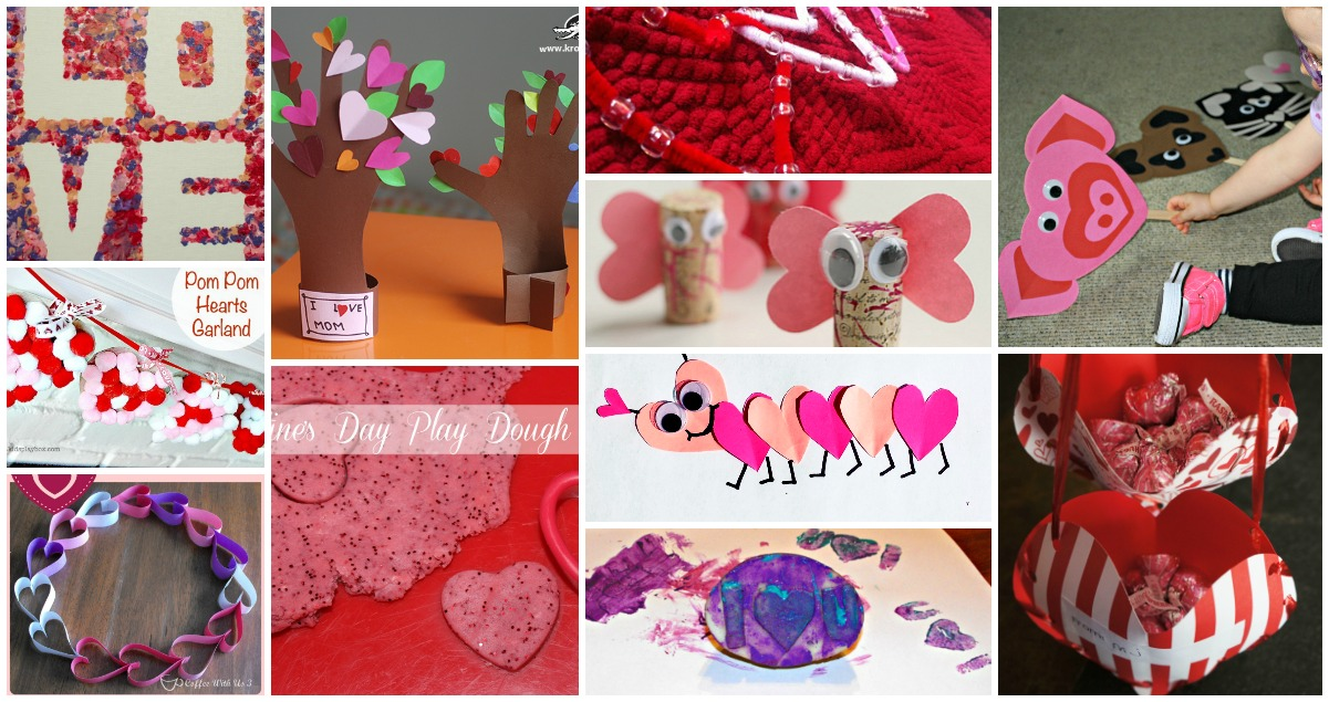 11 Adorable Valentine\'s Day Crafts for Kids