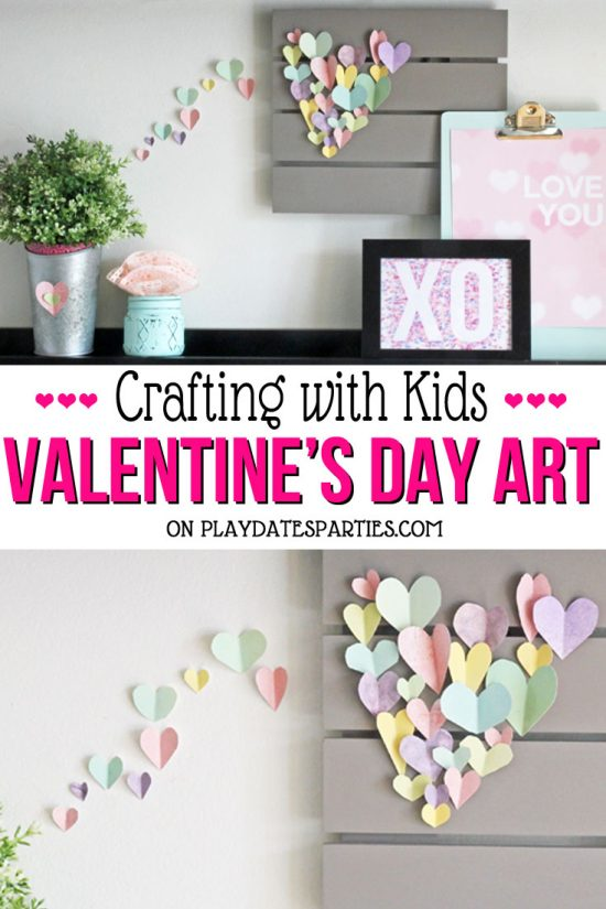 Valentine's Day Home Decorations You Can Make With Your Kids