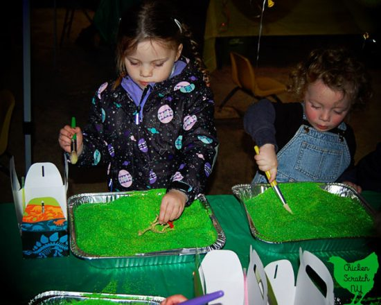 Host a Dino Dig Party - What a cute birthday party idea for winter!