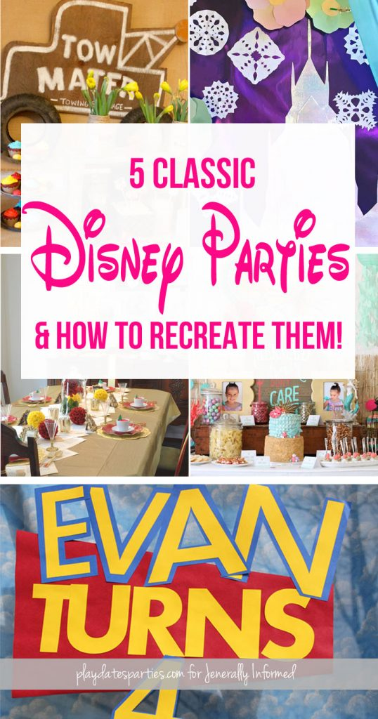 Kids have been asking for Disney movie themed parties for generations. Find out how to make your party stand out among all the others.