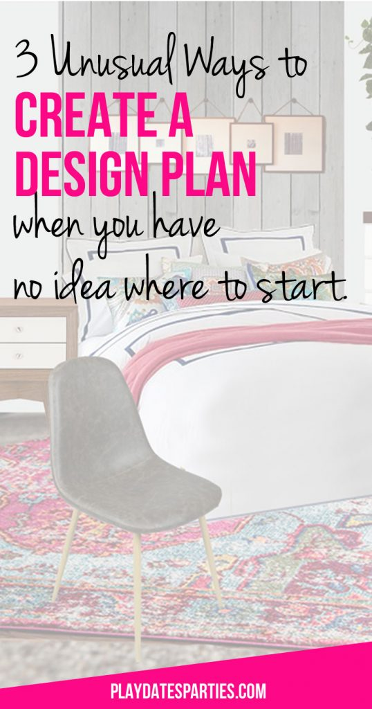 Stuck without a design plan for your renovation? Try one or all of these three unusual ways to create a design plan when you have no clue where to start. Including plenty of inspiration for designing a bold and modern master bedroom.