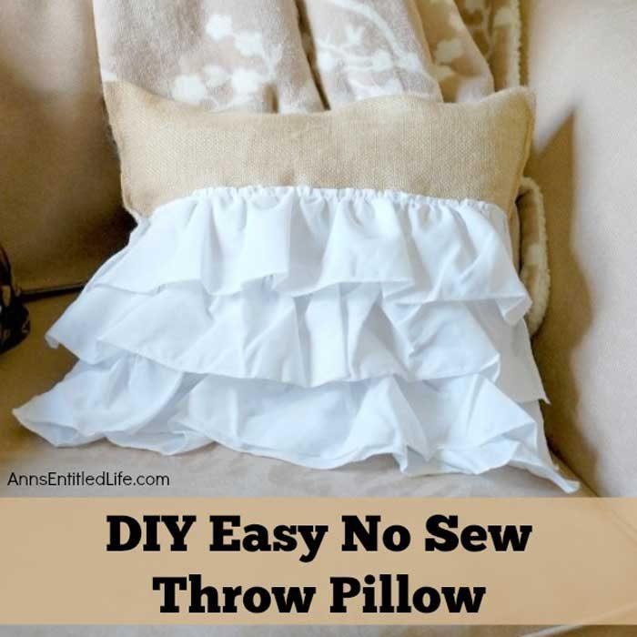 Anns-Entitled-Life-Hot-Glue-Throw-Pillow