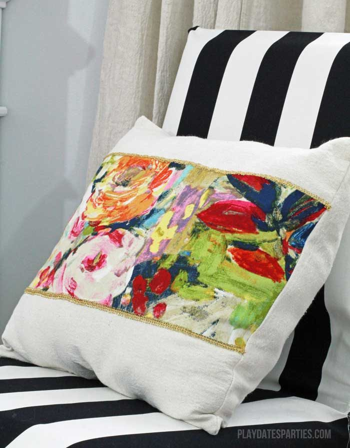 If I can make these, so can you! Learn the easiest ways to make your own throw pillows to add personal style to your home. Whether you're just beginning to sew, or hate needle and thread, there's a method for you!