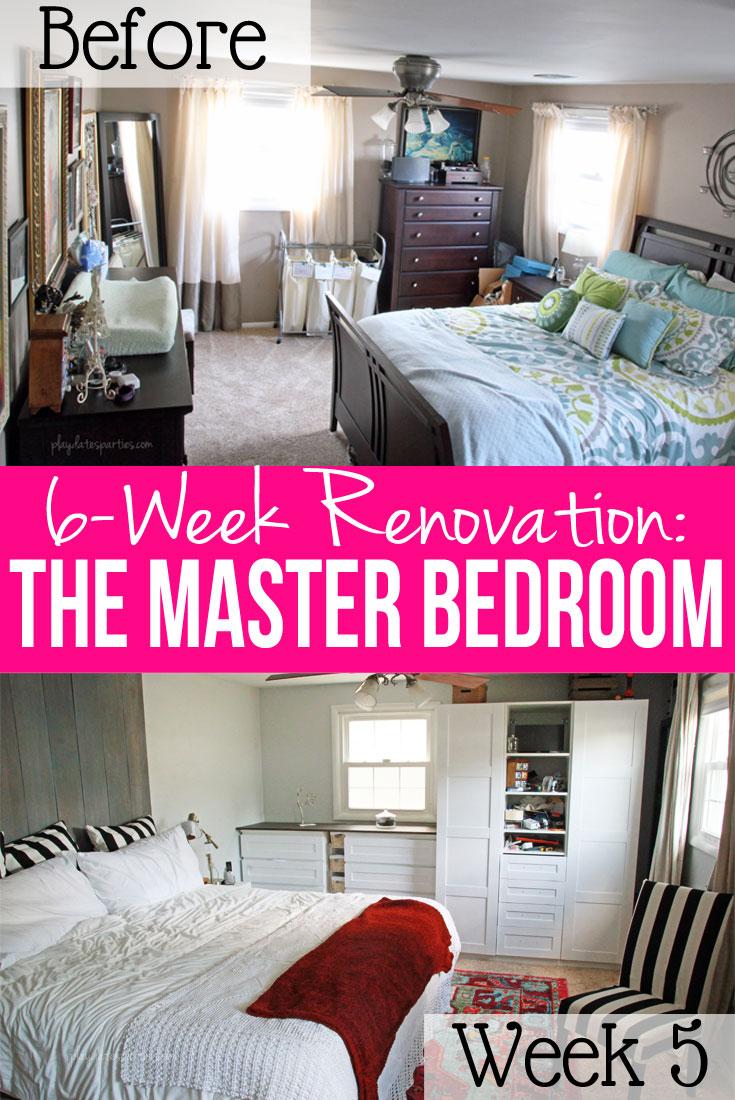 Master Bedroom Renovation Week 5 Racing To The Deadline