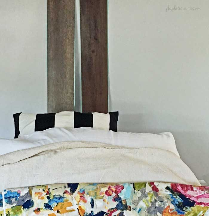 Testing-for-Faux-Shiplap-Headboard