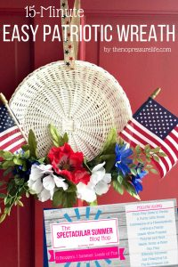 15-Minute Easy Patriotic Wreath