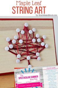 Easy Maple Leaf String Art Takes You from Summer to Fall
