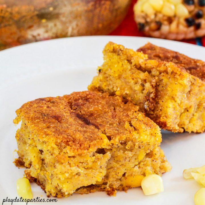 Bolivian Corn Cake (Easy Huminta)