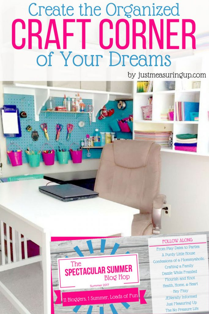 Are your craft supplies spilling out everywhere? Is it impossible to find the one thing you need? You don't need a whole room to get organized. Find out how to take a small corner of your house and organize a craft corner that keeps everything perfectly in its place.