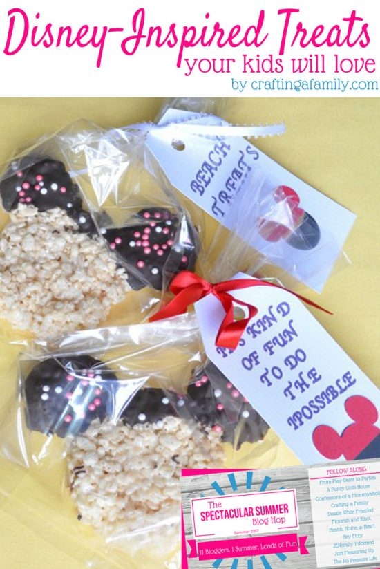 2 Fun Disney-Inspired Treats Your Kids will Love