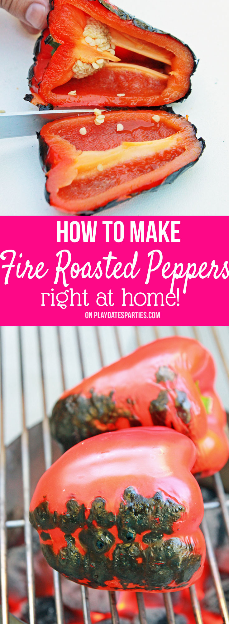 Leave the oven off and learn how to make fire-roasted peppers at home. You'll love the bold flavor added by using an open flame!