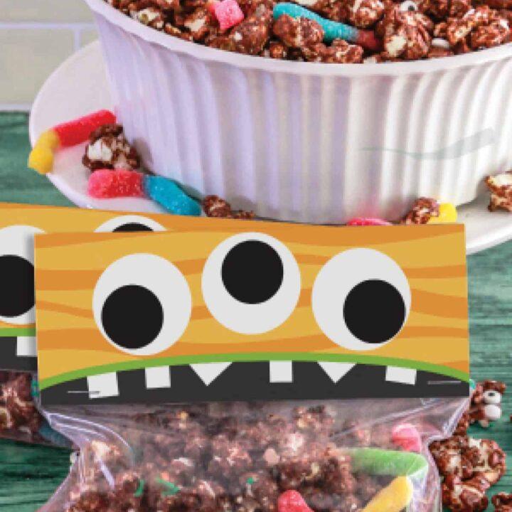 Monster Munch Halloween Popcorn Mix