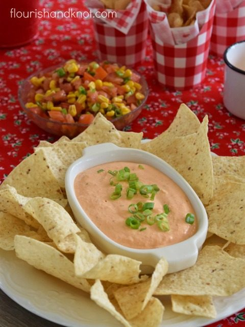 Roasted Red Pepper Dip by Flourish & Knot