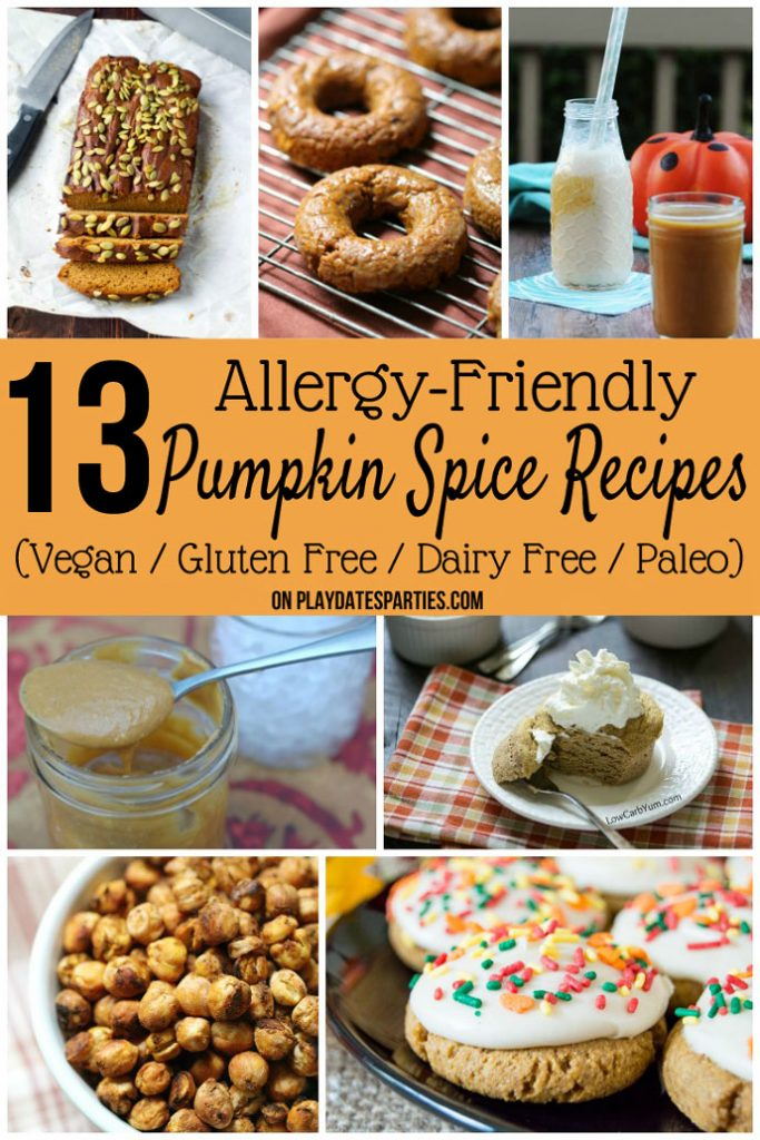Sometimes it seems like you can't have anything yummy when we're on a special diet. But these 13 pumpkin spice recipes are all vegan, gluten free, dairy free, and/or paleo friendly. Score!