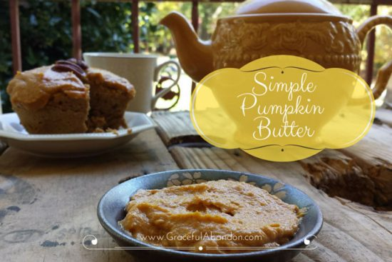 Healthy Pumpkin Butter by Graceful Abandon