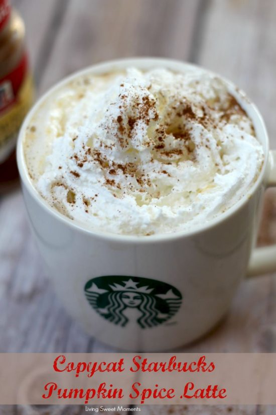 Copycat Pumpkin Pie Spice Latte by Living Sweet Moments