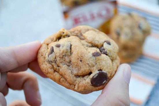 Pumpkin Spice Chocolate Chip Pudding Cookies by I am a Honey Bee