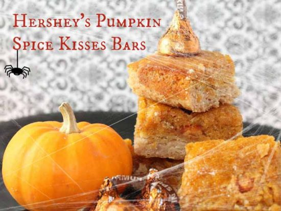 Pumpkin Spice Kisses Bars by Mommy Musings