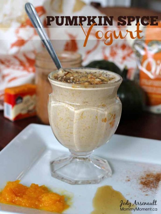Pumpkin Spice Yogurt by Mommy Moment