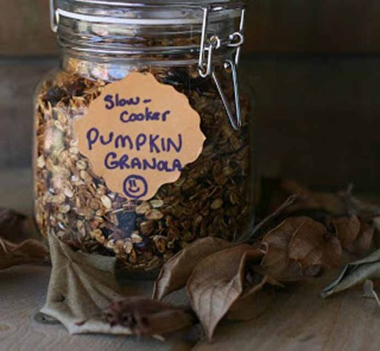 Crock Pot Pumpkin Spice Granola by A Year of Slow Cooking