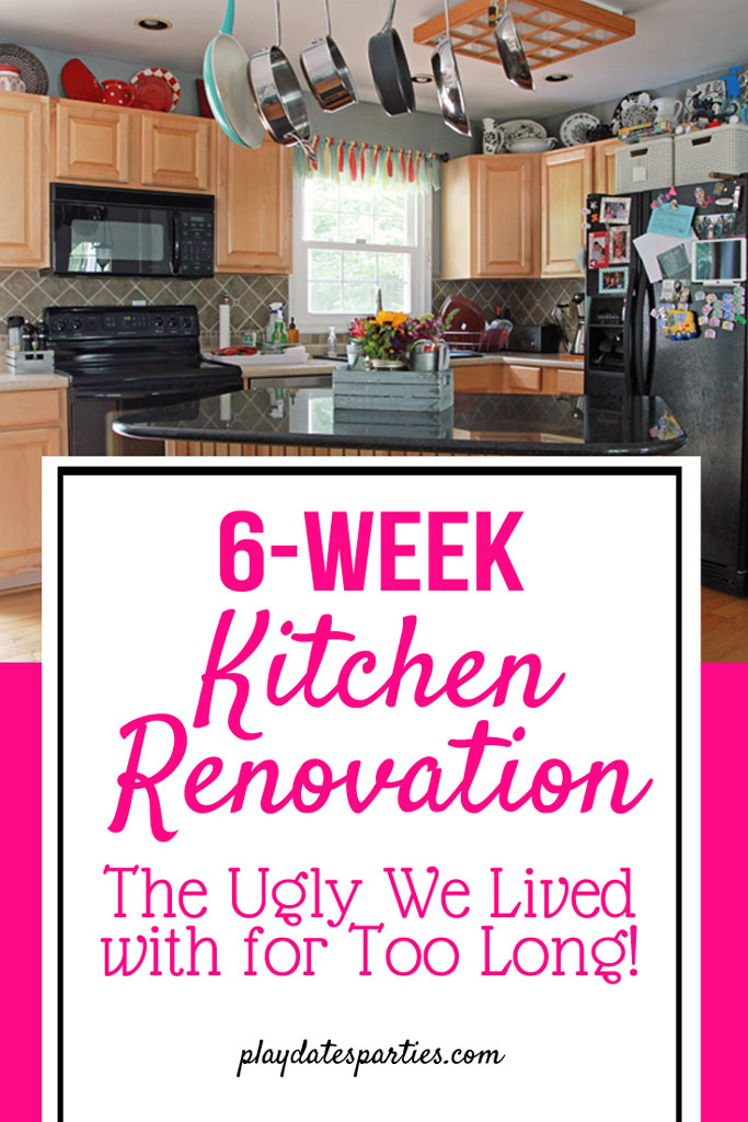 Why on earth are we taking on a 6-week kitchen renovation?