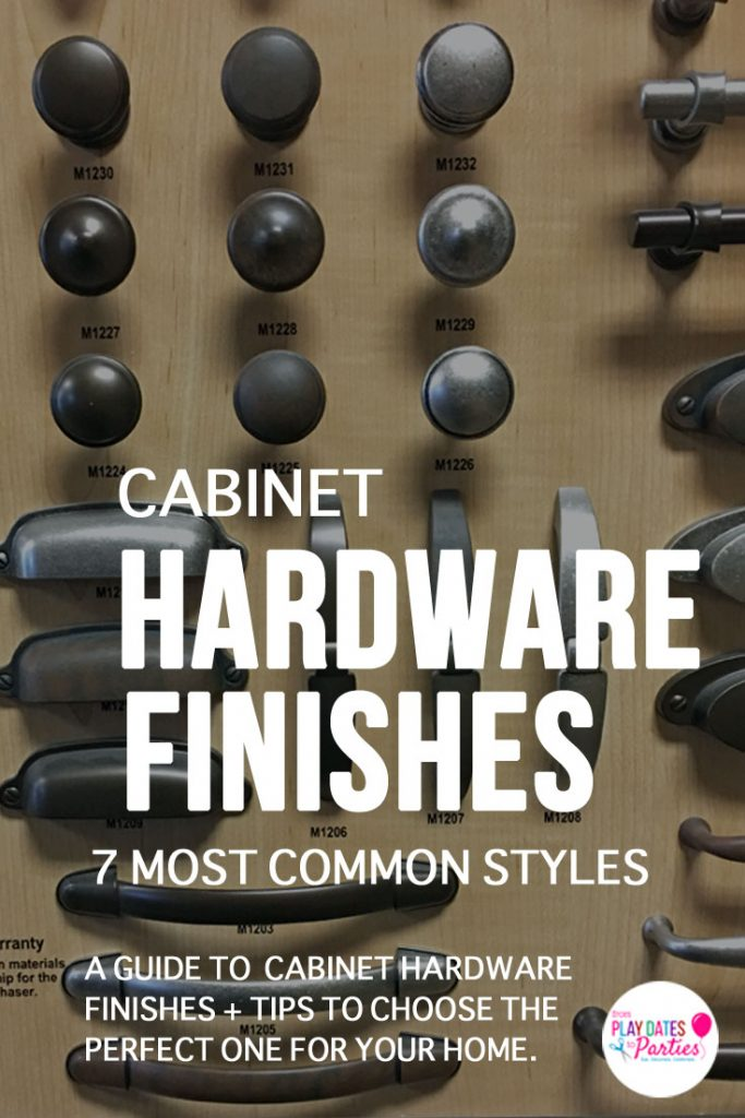 Chrome, brass, polished nickel, satin nickel, antique brass, oil-rubbed bronze, and matte black...the choices are overwhelming. Learn the difference between cabinet hardware finishes. Plus get tips to help you make the right decision for your home decor and design style.