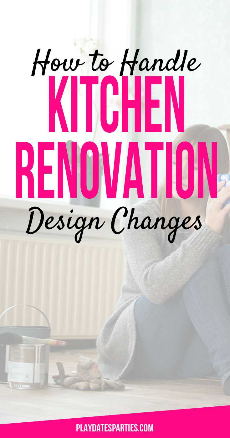 Sometimes kitchen renovation design changes have to happen. Find out how to stay on track so you still end up with your dream kitchen. Plus, take a look at how much can happen in only two weeks of renovations!