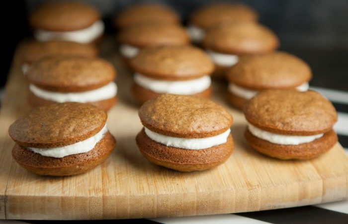 Amish Market Pumpkin Whoopie Pies from Brooklyn Farm Girl.