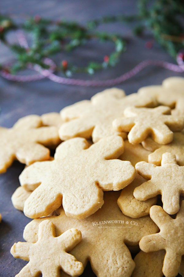Easy Sugar Cookie Recipe From Kleinworth & Co.