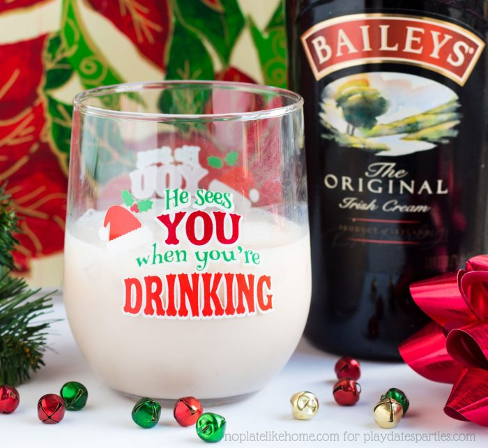 The Bailey's Butterscotch Almond Cocktail is a light, easy cocktail recipe that is perfect for your Christmas party or for an evening at home. Make a single drink, or mix it in a pitcher to make your holiday party even easier!
