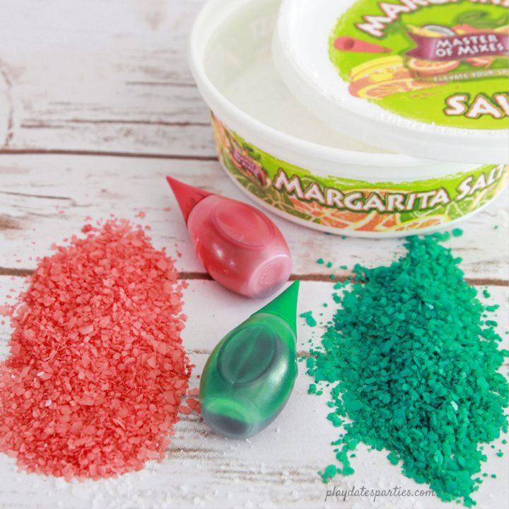 How to Make Colored Margarita Salt