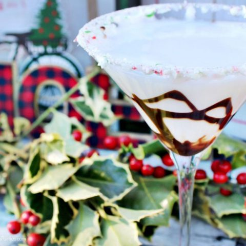 Peppermint Mochatini Cocktail