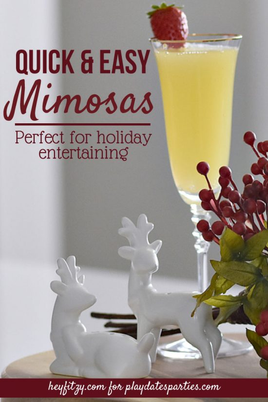 Quick and Easy Mimosas Recipe