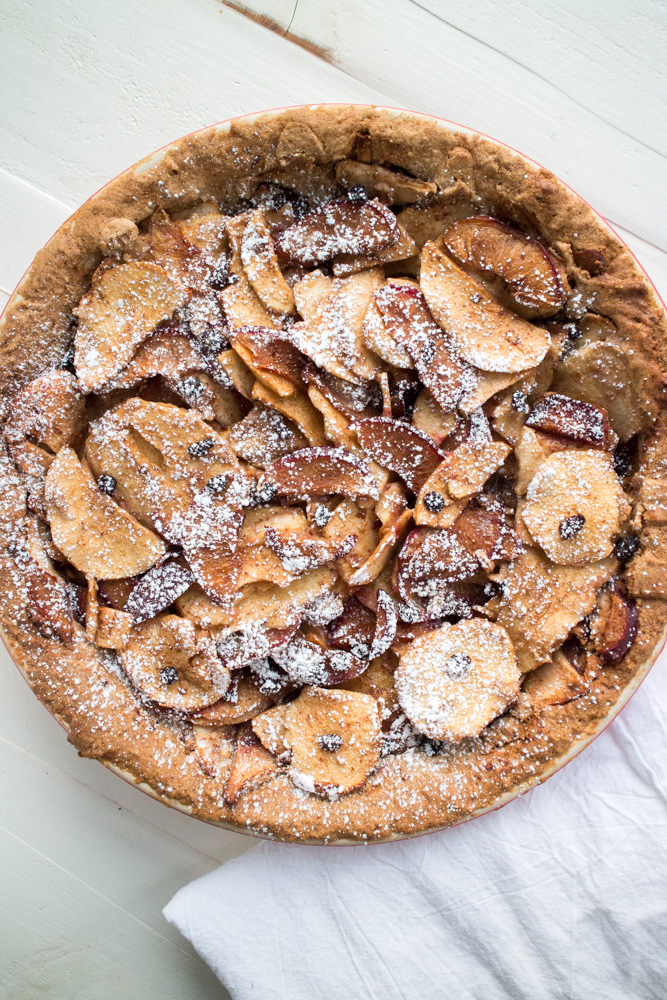 Gluten Free Sugar​ Plum​ ​Apple​ Currant​ Pie From Brooklyn Farm Girl.