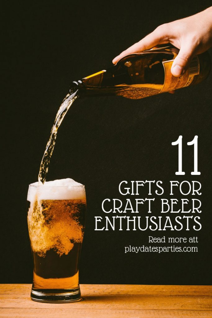 YES! Finally, 11 craft beer enthusiast gifts that your loved one will ACTUALLY love to get, no matter what budget you have to spend. #craftbeer #beer #gifts #holiday