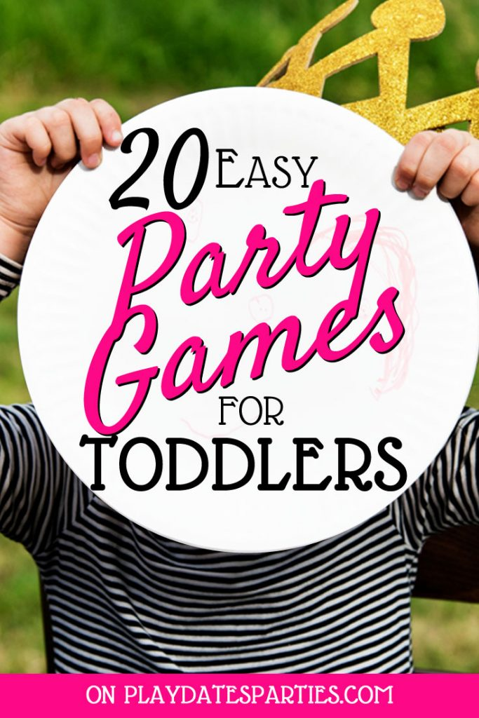 Have a gaggle of kids around 3 years old coming over for a party? No sweat! Whether you need indoor or outdoor party activities, this 3-step plan will make it easy to plan party games for toddlers at a birthday party or any other occasion. Don't forget to grab your free printable to make it extra simple for everyone in the family! #partyideas #kidsparties #PartyPlanning #BirthdayParty #Toddlers #Parenting #ToddlerActivity