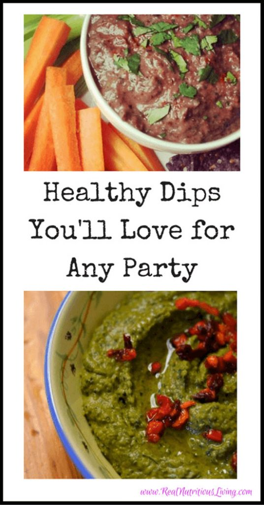 Vegan Appetizer Recipes: Two Vegan Dips for Any Party at Real Nutritious Living