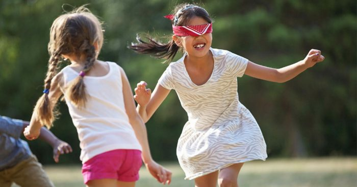 Plan easy party activities for kids like obstacles courses.