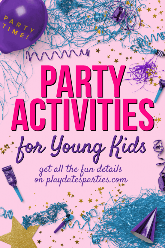 Party Activities for Kids | 5 to 8 Year Olds